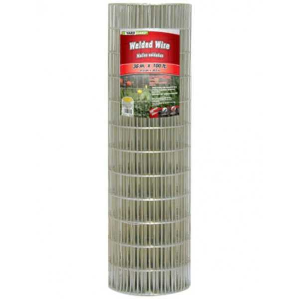 YardGard 308311B Galvanized Welded Wire Fence, 14-Gauge, 36' x 100'