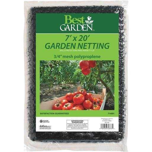 Hipp Hardware Plus 7'X20' Garden Netting 714891 Unit: EACH